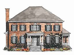 georgian style home plans georgian style house plans best of 739 best colonial and georgian
