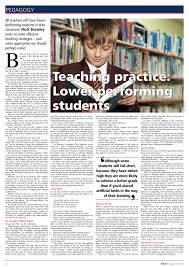 teaching strategies teaching less able students bromley