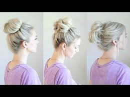 hairstyles with a hair donut best 25 hair bun donut ideas on pinterest sock buns hair donut