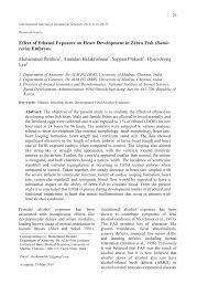 effect of ethanol exposure on heart development in zebra fish