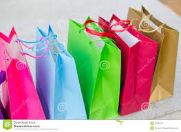 gift bags colored gift bags stock image image 35186711