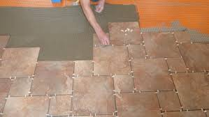 laying tile effect laminate flooring meze