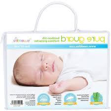 Bamboo Crib Mattress Waterproof Crib Mattress Cover Ultra Soft Dryer