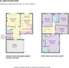 777 Floor Plan by 4 Bedroom Detached House For Sale In 63 Ashfurlong Road Dore