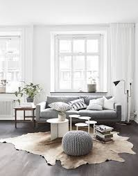 how to get the scandinavian aesthetic in your living room simply