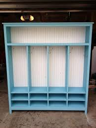 kids lockers for home modified 4 kid locker cabinet do it yourself home projects from