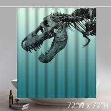 Shower Curtains Unique Liberty Art Unique Dinosaurs Waterproof Bathroom Shower Curtains