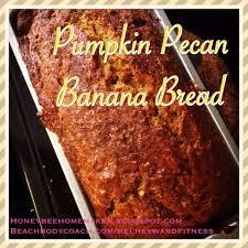 pumpkin pecan banana bread of course on thanksgiving day the