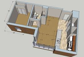One Bedroom Apartment Plans Beautiful One Bedroom Apartments On Interior Decor Plan With The