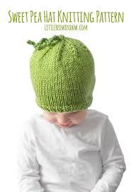 sweet pea hat knitting pattern window