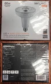 sengled camera light bulb wireless 66738 new sengled snap led 60w flood light bulb wireless