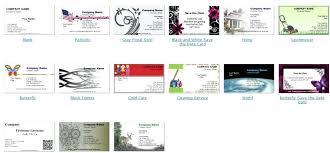 various free printable business card maker cards software design