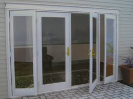 Patio Door Frames Stunning White Finished Wooden Clear Glass Swing Door Frames As