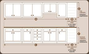 cuisine standard dimension table cuisine hauteur standard plan de travail 8 newsindo co