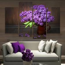 Flower Home Decoration by Purple Wall Home Decor The Rising Popularity Of Purple Home