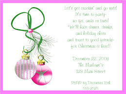 ornaments invitations