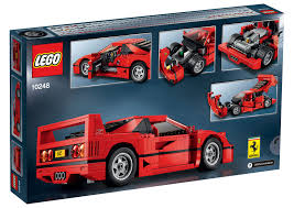 mini cooper lego lego ferrari f40 announced iconic 1987 supercar u0027s blockbuster toy