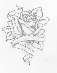 pencil drawings of roses and hearts heart coloring pages how to