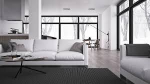 Black Minimalist by Inspiring Minimalist Interiors With Low Profile Furniture