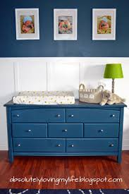 Using A Dresser As A Changing Table Loving Re Purposed Goodwill Dresser Nursery Changing Table
