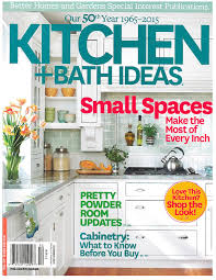 bhg kitchen and bath ideas kitchen featured in national magazine christopher rose