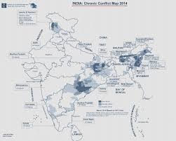 South India Map by India Maoist Conflict Map 2014 South Asia Terrorism Portal