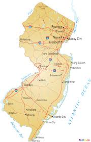 Zip Code Map New York by New Jersey Map Blank Political New Jersey Map With Cities