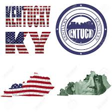 United States Map Abbreviations by Kentucky State Collage Map Stamp Word Abbreviation In Different
