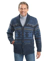 mens cardigan sweater s ultra line fair isle cardigan sweater by woolrich the