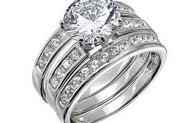 Wedding Ring Sets His And Hers by Ring Princess Wedding Rings Beautiful 3 Piece Wedding Ring Sets