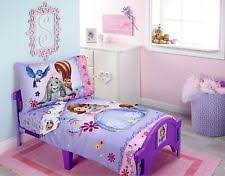 Sofia The First Toddler Bed Princesses U0026 Fairies Nursery Bedding Sets Ebay