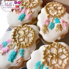 boho addict fb boho addict boho dreamcatcher birthday sugar cookies 3 the