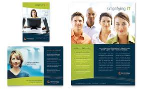 creative brochure templates one page brochure templates creative