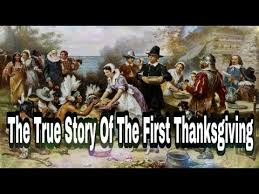a true thanksgiving story told by americans