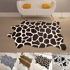 Faux Cowhide Rugs Cheap Faux Animal Hide Rugs Creative Rugs Decoration