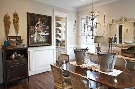farmhouse french dining room new house cedar hill farmhouse i even found the console on clearance at restoration hardware for an excellent price