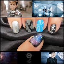 exo exo k exo m history nail art by real asian beauty