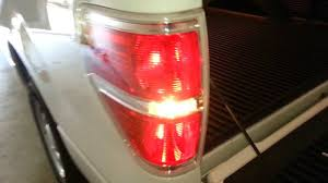 2013 Ford F 150 Testing New Tail Light Bulbs Brake Reverse