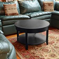 Round Living Room Table by Black Round Coffee Table Studio Designs Home Camber Round Coffee