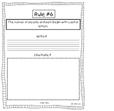 5th Grade Grammar Worksheet Spotted In First Grade Grammar And Punctuation Rule Book