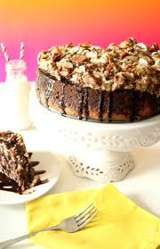 german chocolate cheesecake kitchen dreaming