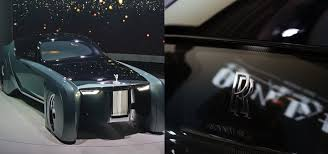 rolls royce 103ex the futuristic rolls royce vision 100 is so outlandishly gorgeous