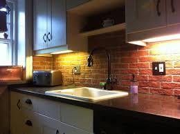White Brick Backsplash Kitchen - kitchen white brick tiles for kitchen backsplash kitchen