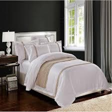 Silentnight Egyptian Cotton Duvet Luxury Hotel Bedding Egyptian Cotton Embroidered White Color