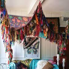 Boho Bed Canopy Bohemian Bed Canopy Boho Hippy Vintage From Hippiewild On Etsy