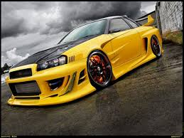 яна терещенко On Drivetribe Nissan Skyline Gtr R34 Yellow