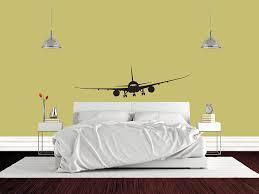 amazon com airplane boeing 787 jet airplane mural vinyl wall amazon com airplane boeing 787 jet airplane mural vinyl wall decal vinyl wall art sticker decal decor wall decal wall decal perfect for a gift 57