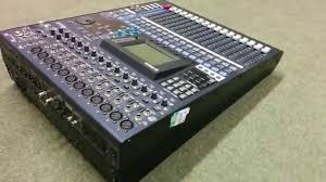 Sound Desk Yamaha Digital Mixing Sound Desk Youtube