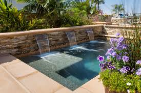 garden stacked stone retaining walls and waterfalls with claffey