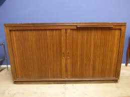 vintage antique french industrial sideboard tambour g185 the